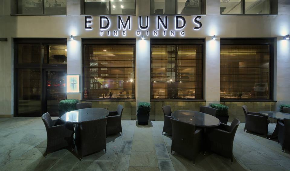 Edmunds Fine Dining From Their Facebook Page