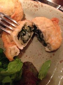 Spinach & Provolone Empanada