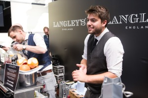 Mixology lesson from the team from Birmingham-distilled gin Langley's