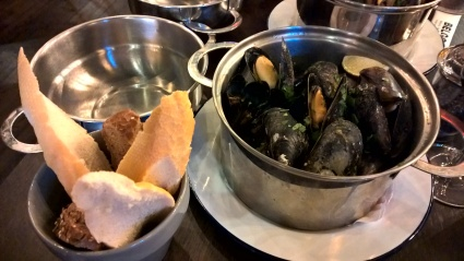 Mussels at Belgo Nottingham