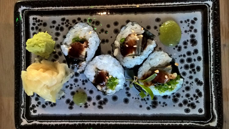 Sushi at Rofuto Birmingham