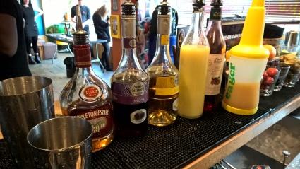 Cocktail making at Island Bar Birmingham, Brumderland 7 Deadly Sins