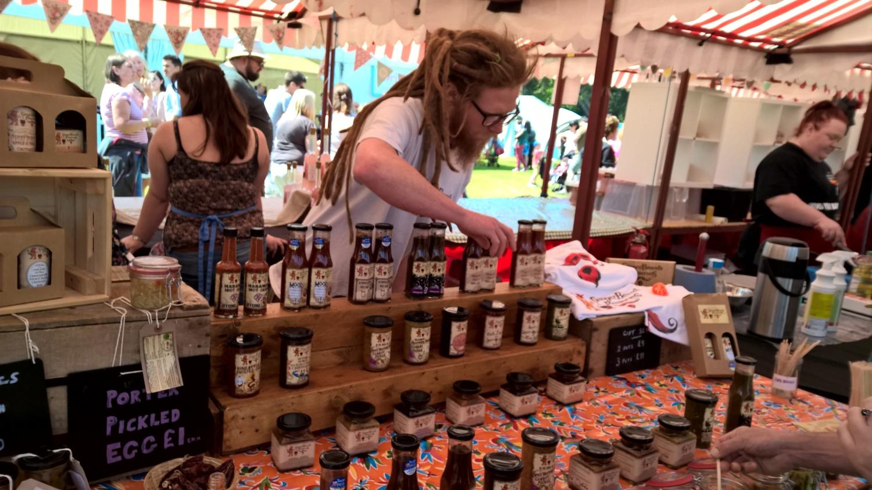 Gingerbeard's Preserves at Foodies Festival Birmingham