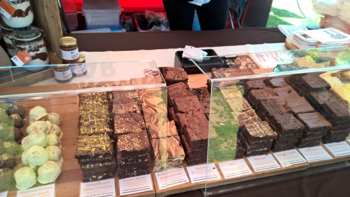 The Brownie Bar at Foodies Festival Birmingham