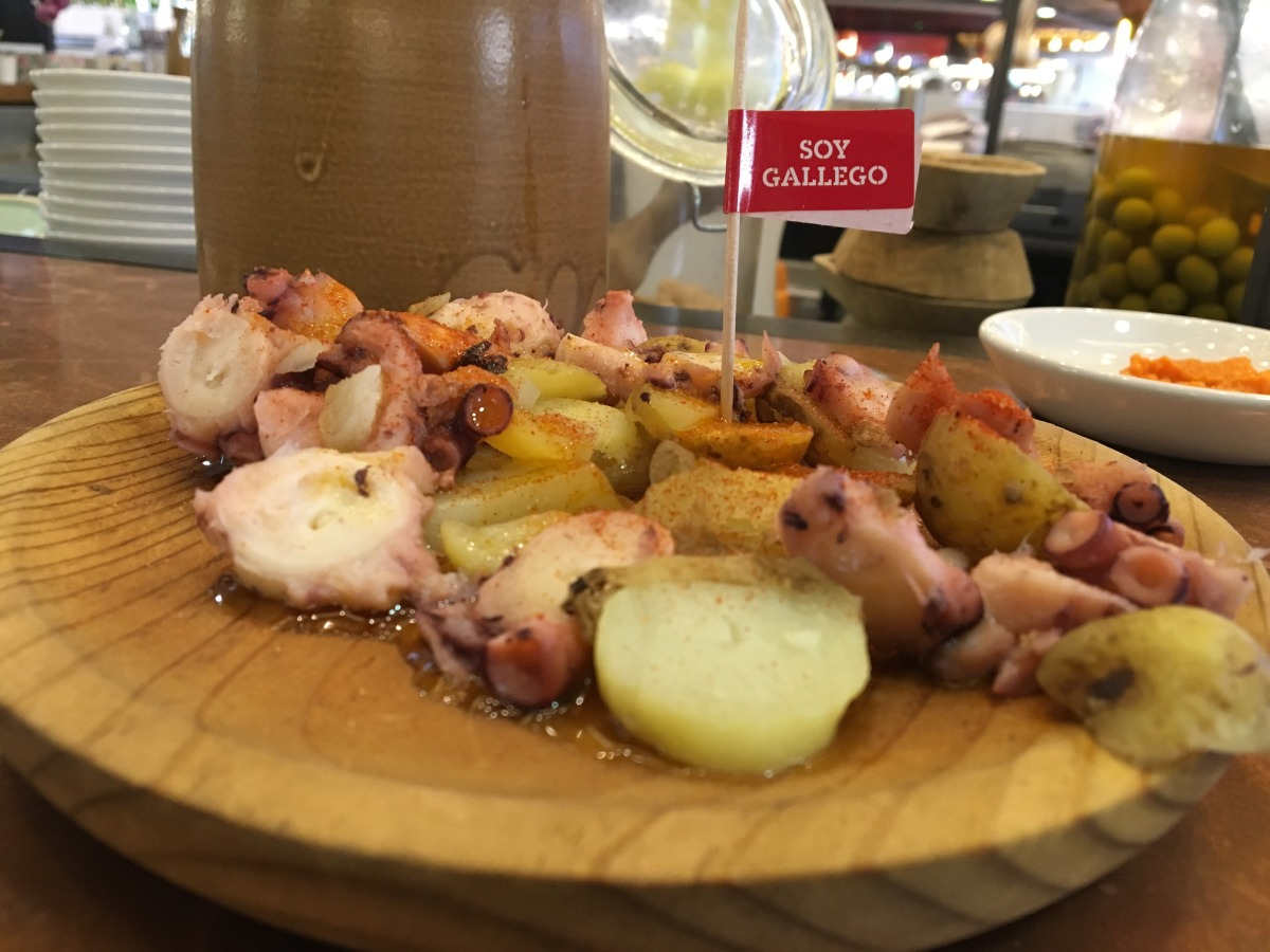 Tapas Revolution, pulpo a la gallega