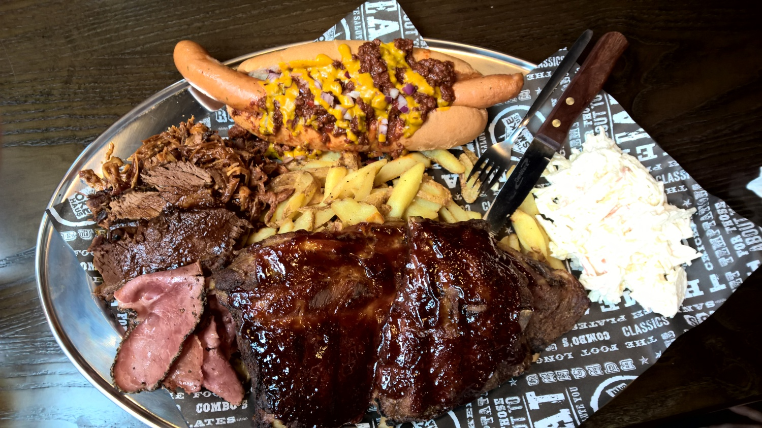 Smoke Haus Brindleyplace Mixed Grill