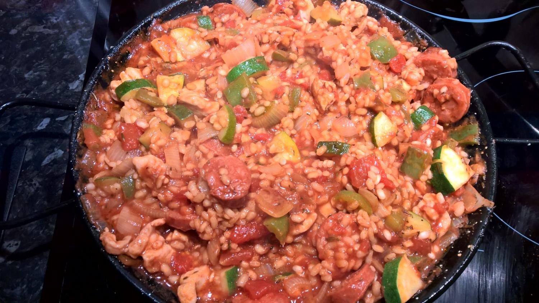 Weekday meals for lazy cooks, jambalaya recipe