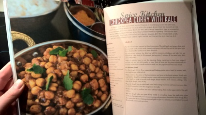 Chickpea and Kale Curry The Birmingham Cook Book