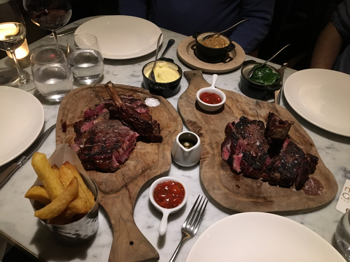 Gastronomic Gorman, Maze Grill Park Walk