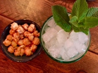 mojito and chilli bites