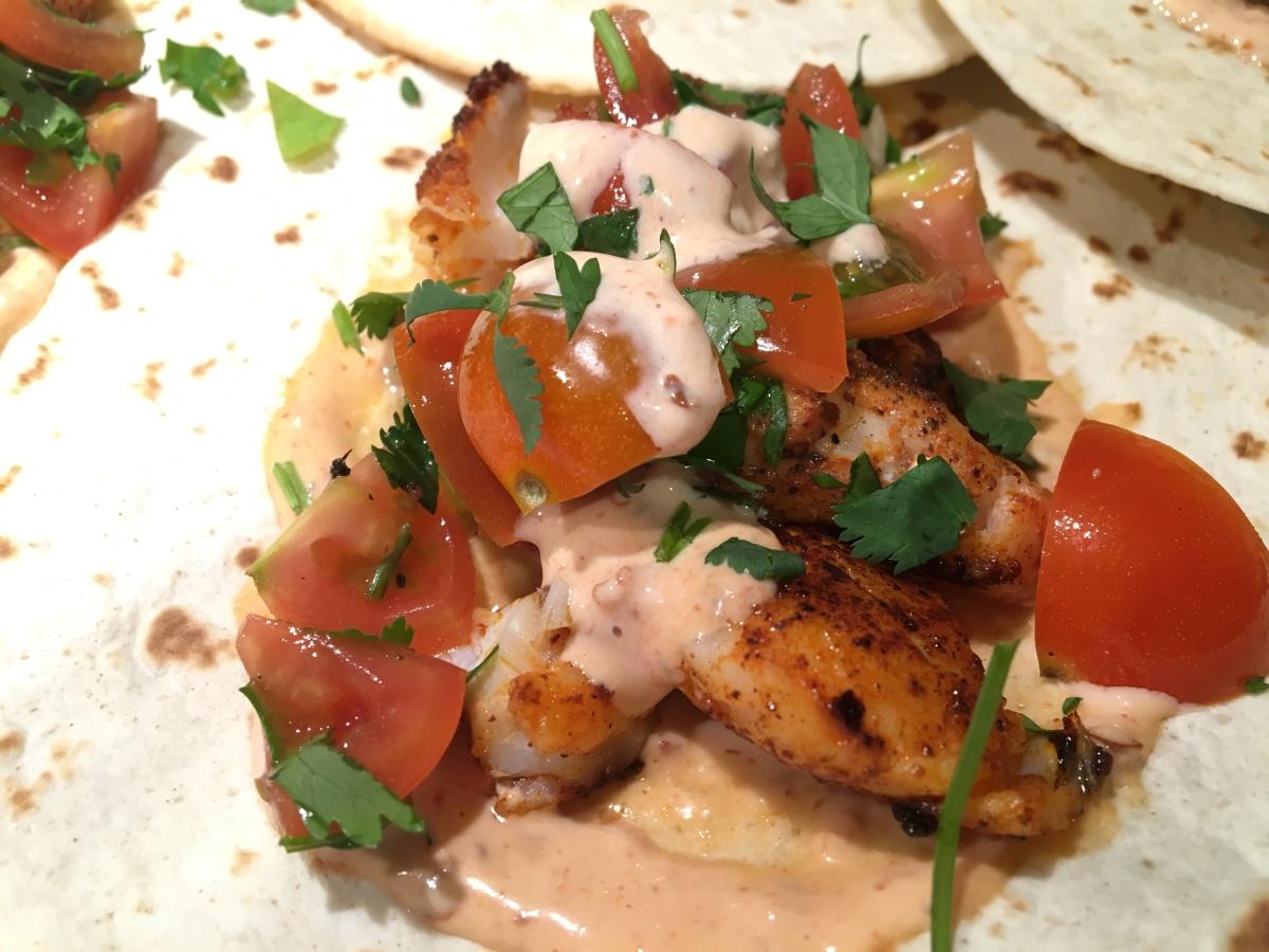 Gastronomic Gorman www.gastronomicgorman.com Gousto Blackened Cod Taco CU