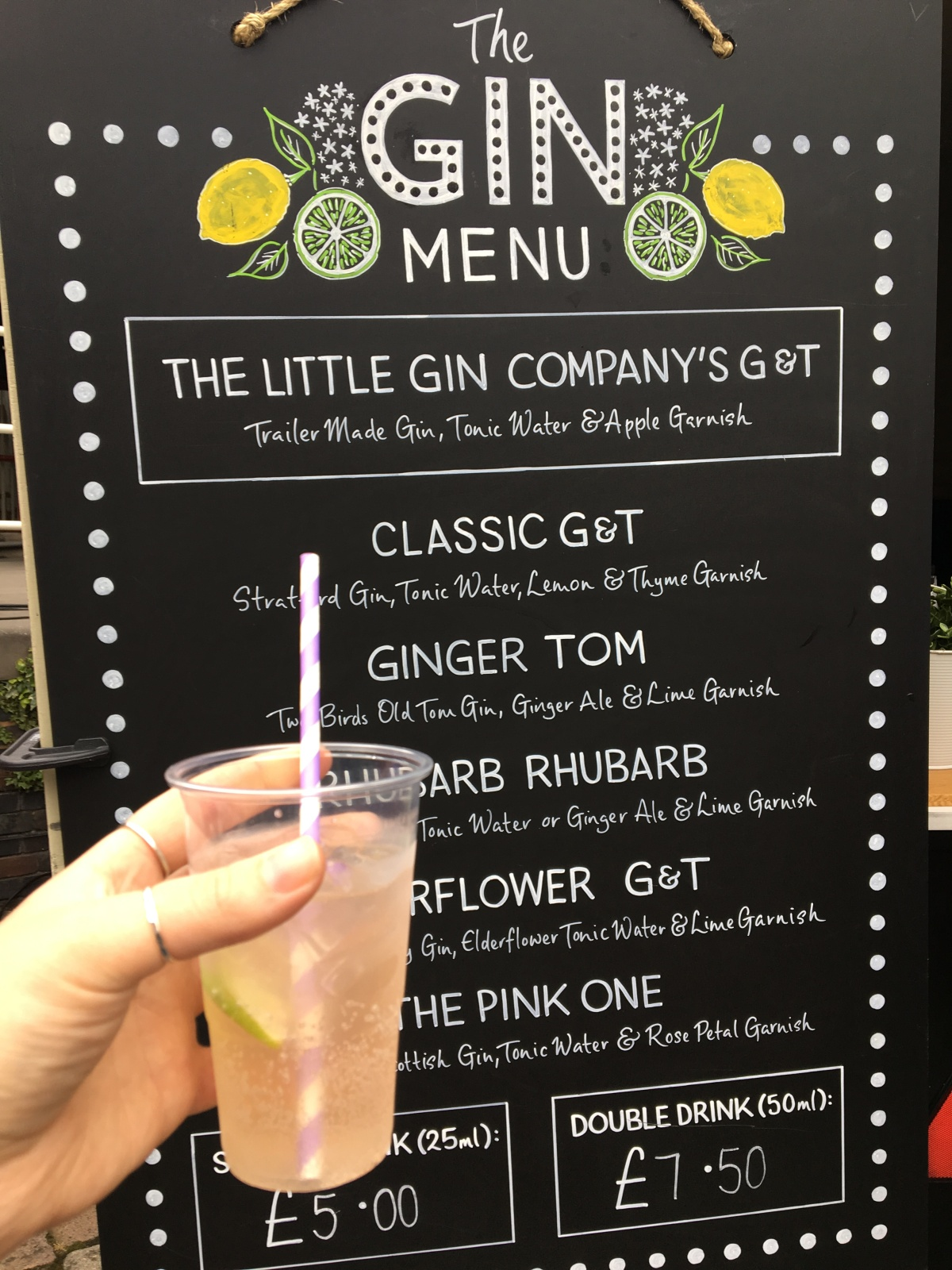 Gastronomic Gorman Birmingham Food Blog Birmingham Summer Market Little Gin Company