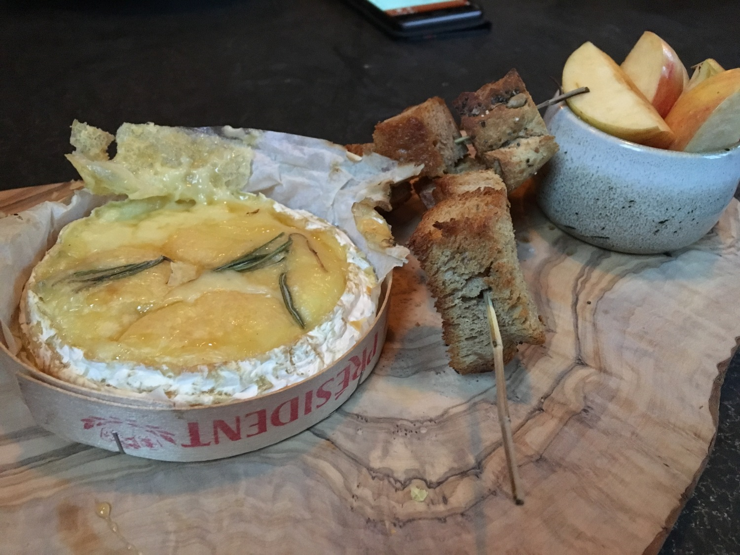 Gastronomic Gorman Birmingham Food Blogger The Canal House Baked Camembert