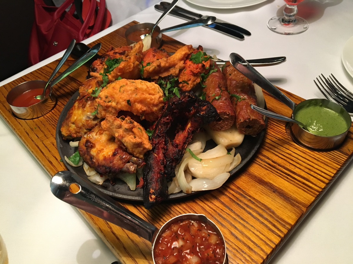Gastronomic Gorman Birmingham Food Blogger The Gateway To India Mixed Grill 2