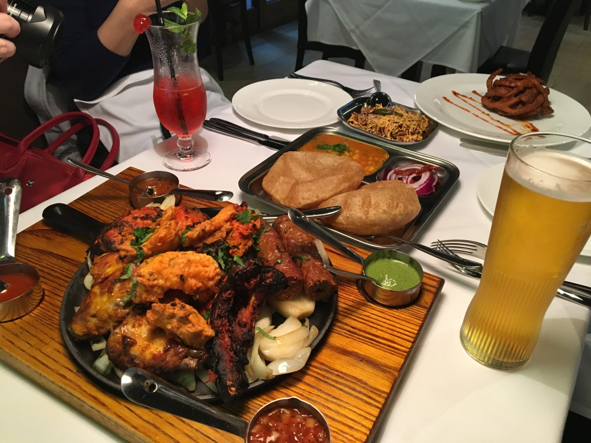 Gastronomic Gorman Birmingham Food Blogger The Gateway To India Starters 1