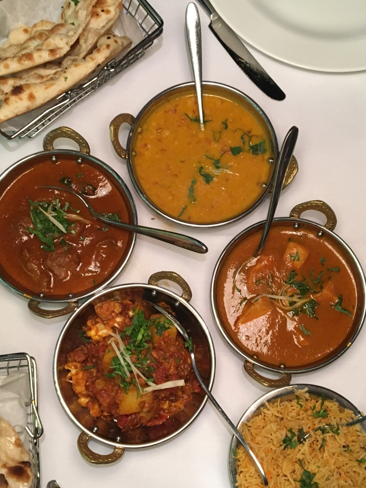 Gastronomic Gorman Birmingham Food Blogger The Gateway To India Mains 2