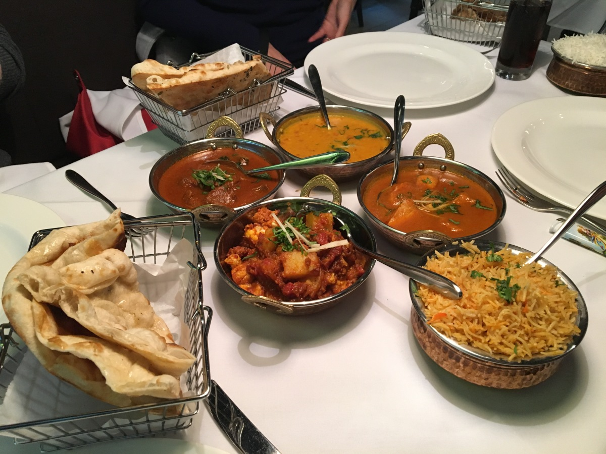 Gastronomic Gorman Birmingham Food Blogger The Gateway To India Mains 1