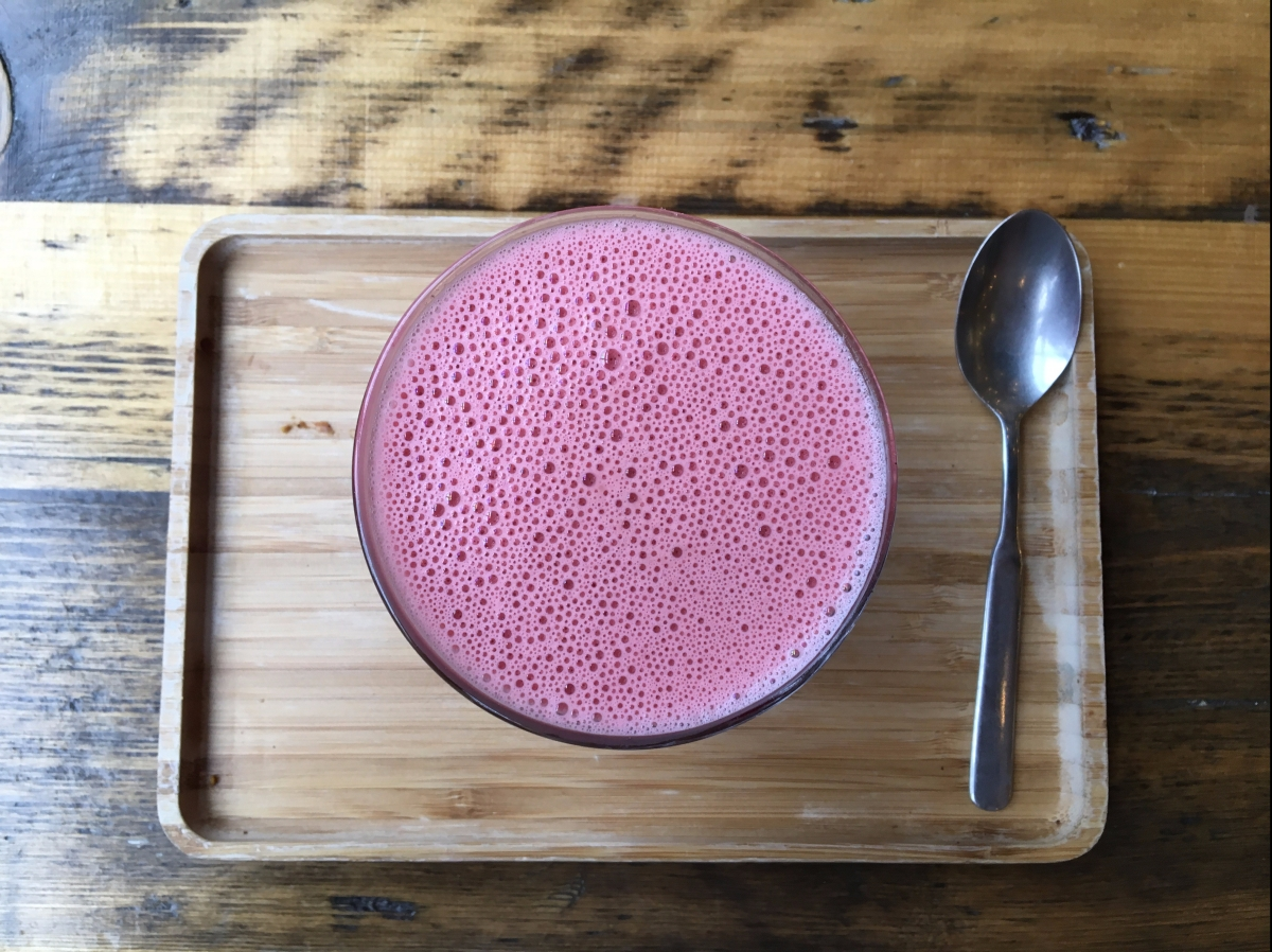 Gastronomic Gorman Birmingham Food Blogger Natural Healthy Foods Vegan Beetroot Latte 2