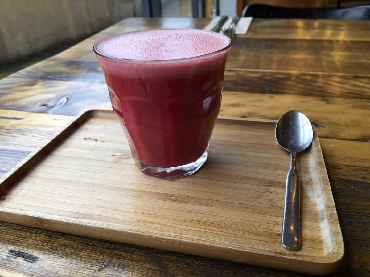 Gastronomic Gorman Birmingham Food Blogger Natural Healthy Foods Vegan Beetroot Latte 1