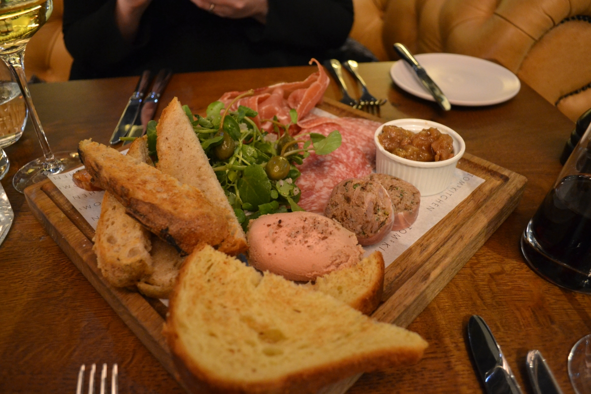 Gastronomic Gorman Tom's Kitchen Birmingham Review Meat and Fish Board