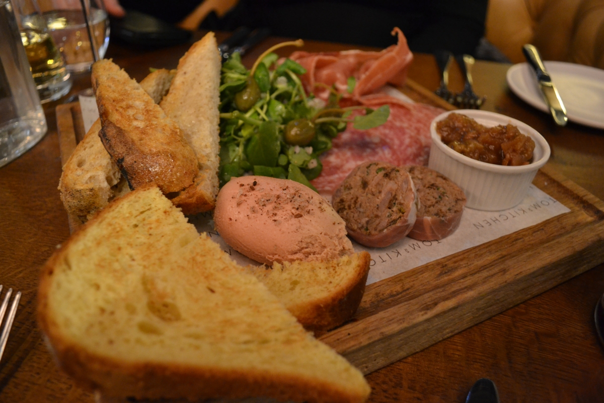 Gastronomic Gorman Tom's Kitchen Birmingham Review Meat and Fish Board 2