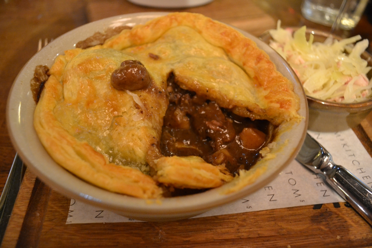 Gastronomic Gorman Tom's Kitchen Birmingham Review Venison & Celeriac Pie 2